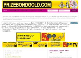 Prizebondgold.com