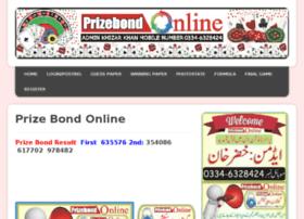 prizebondonline.net