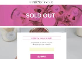 prizecandle.com
