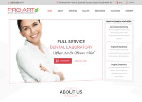 pro-artdentallab.com