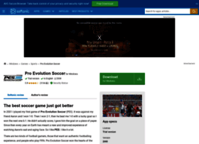 pro-evolution-soccer-2008.en.softonic.com
