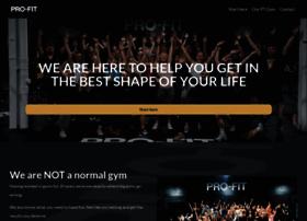 pro-fitpersonaltraining.co.uk