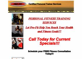 pro-fitpersonaltraining.com