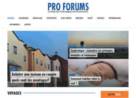 pro-forums.fr