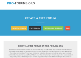 pro-forums.org