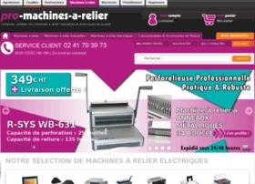 pro-machines-a-relier.com