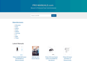 pro-manuals.com