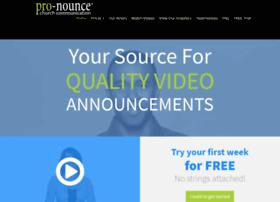 pro-nounce.com