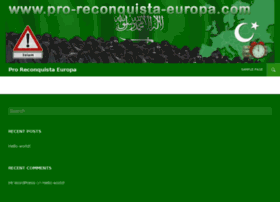 pro-reconquista-europa.com