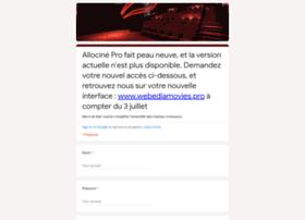 pro.allocine.fr