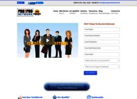 pro2pronetwork.com