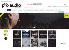 proaudiosystems.co.uk