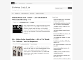 problembanklist.com