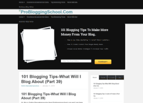 probloggingschool.com