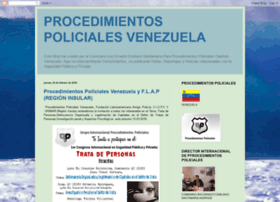 procedimientospolicialesvenezuela.blogspot.com