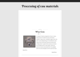 processing-of-raw-materials.blogspot.ae
