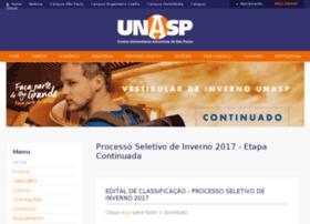 processoseletivo.unasp.edu.br