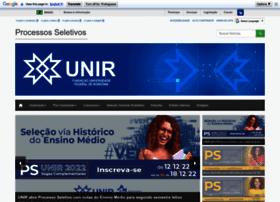 processoseletivo.unir.br