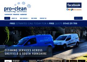 proclean-sheffield.co.uk