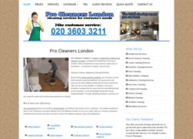 Procleanerslondon.com