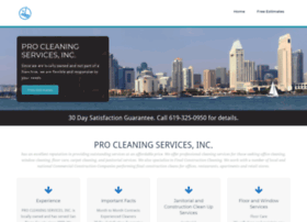 procleaningservices.net