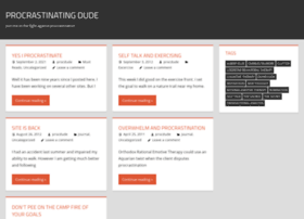 procrastinating-dude.com