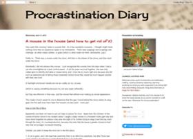 procrastinationdiary.blogspot.com