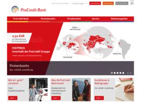 procreditbank.de