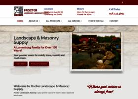 proctorlandscapesupply.com