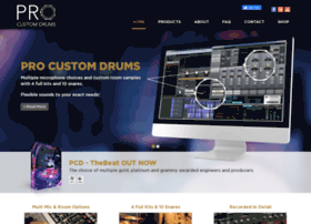procustomdrums.com