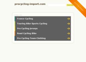 procycling-import.com
