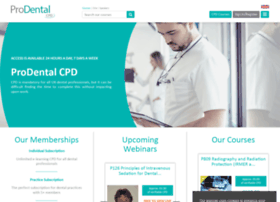 prodentalcpd.com