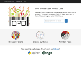 product-open-data.com