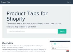 product-tabs.theflyingdeveloper.com