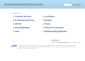 productadvisorpanel.com