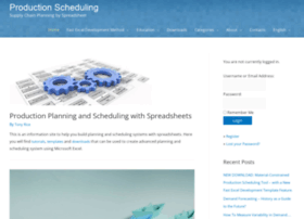 production-scheduling.com