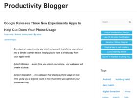 productivityblogger.com