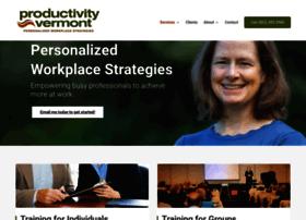 productivityvermont.com