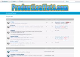 productleaflets.com