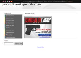 productlicensingsecrets.co.uk