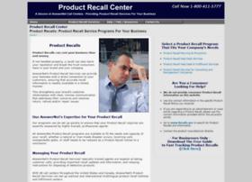 productrecallcenter.com