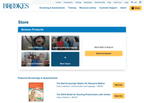 products.brookespublishing.com