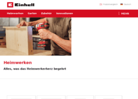 products.einhell.com