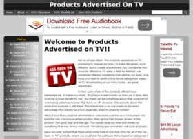 productsadvertisedontv.com