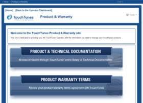 productwarranty.touchtunes.com