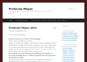 profeciasmayas2012.com