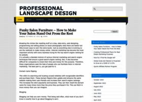 professional-landscape-design.info