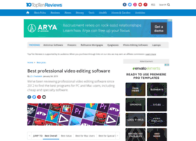 professional-video-editing-software-review.toptenreviews.com