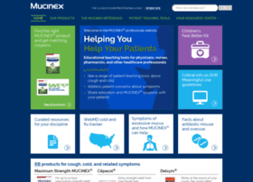 professional.mucinex.com