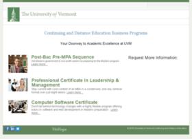 professional.uvm.edu